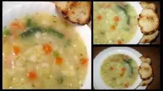 БОМЖ - обед   за 30 руб.  картофельная   похлебка   , экономные  рецепты