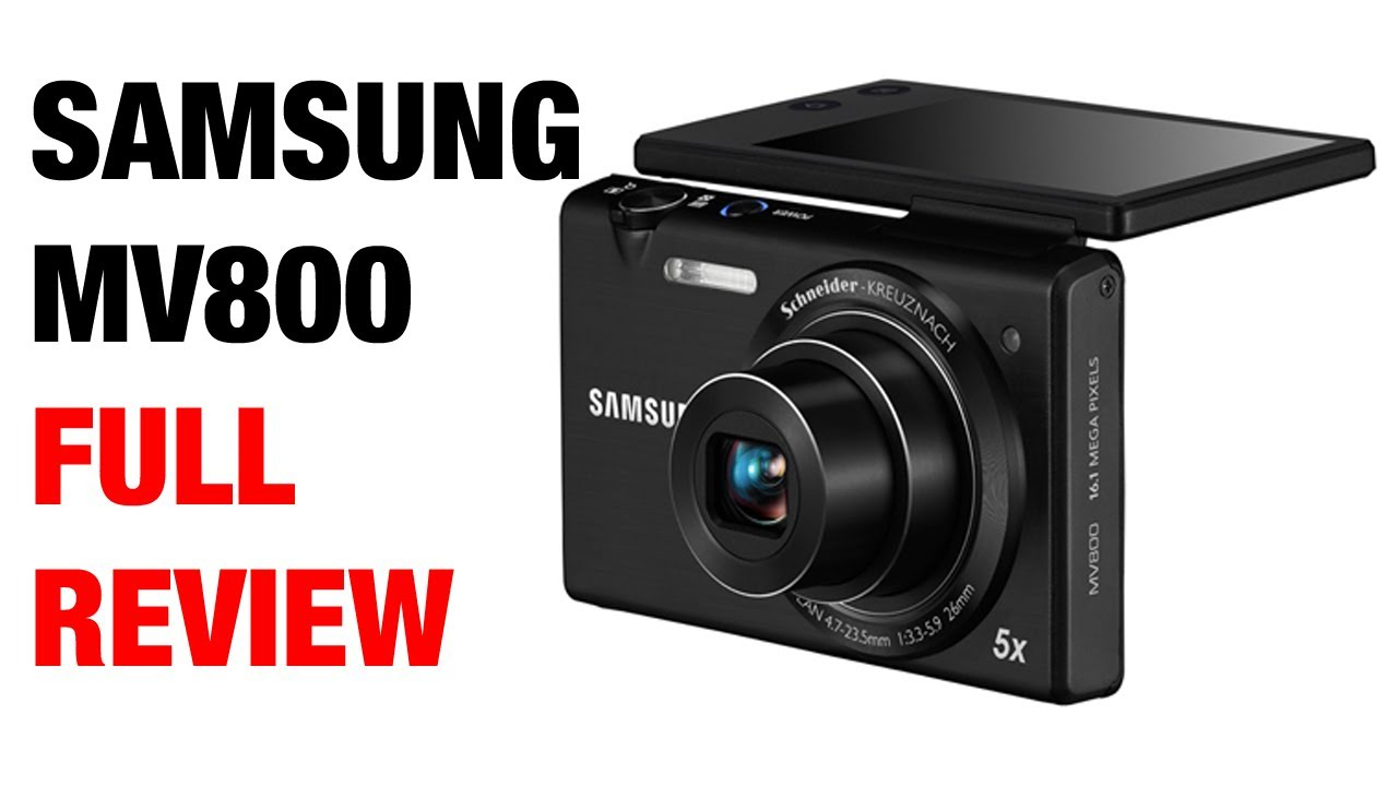 SAMSUNG MV800 DIGITAL CAMERA WINDOWS XP DRIVER