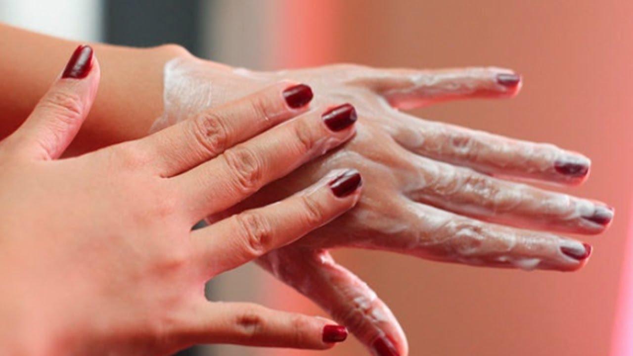 5033461e1  وصفة طبيعية مذهلة للتخلص من تجاعيد اليدين / كريم لليدين مذهل مضاد للتجاعيد  - YouTube