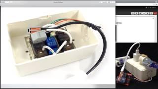 Webduino - 智慧插座 ( Wi-Fi、網頁操控、語音聲控 )