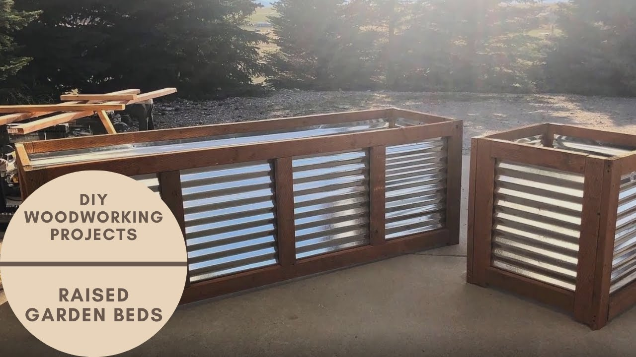 Diy Outdoor Woodworking Projects Raised Garden Beds Youtube