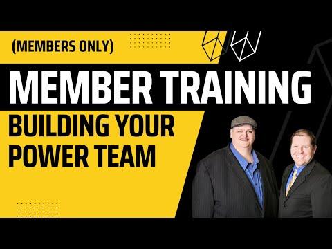 Tax Lien/Deed Workshop 2: Investor Resources & Power Team