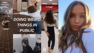 Doing Embarrassing Things In Public (Cringey) Video