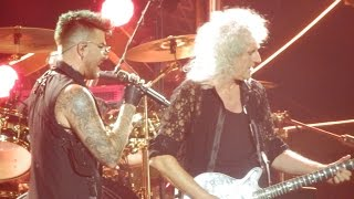 Queen + Adam Lambert - Seven Seas of Rhye, Hammer to Fall - Singapo...