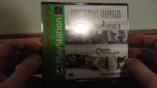 UNBOXING: Final Fantasy Chronicles【PSOne】