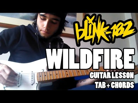 Blink-182 - Wildfire - Guitar Lesson with TAB and Chords