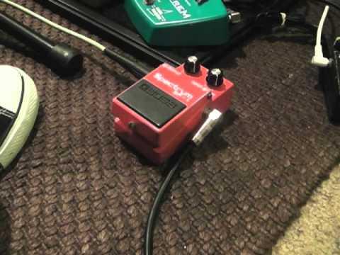 Boss SP-1 Spectrum demo: Les Paul/AC15/Fender Reverb Tank