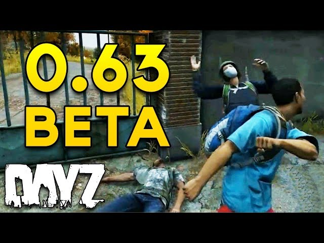#DayZ 0.63 BETA - NEW Base Building, Animations, Inventory & Melee Combos! - Gamescom Showcase