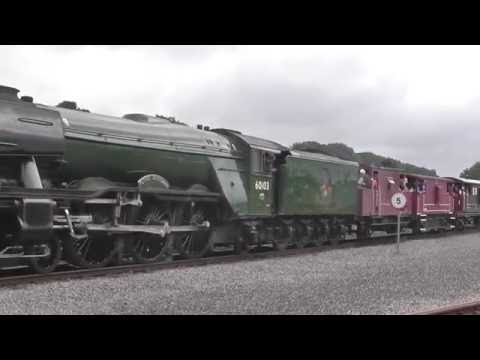 'Flying Scotsman' Steams Up Locomotion: 'The Shildon Shed Bash' - July 2016
