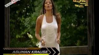 Asuman Krause Fear Factor Extreme 2 Yari Final (04.04.2010)