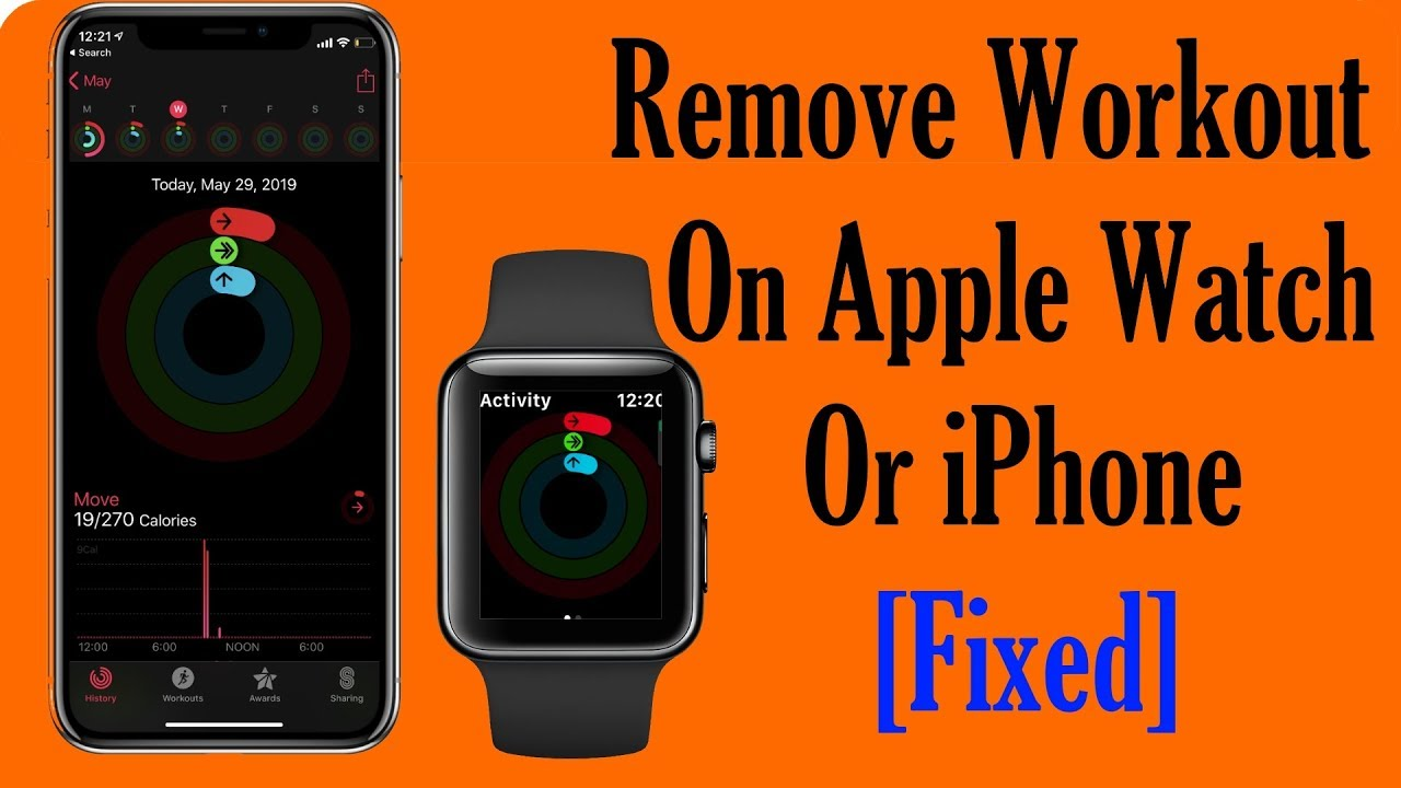 How To Delete Or Remove Workout On Apple Watch 4 3 2 And Iphone Youtube