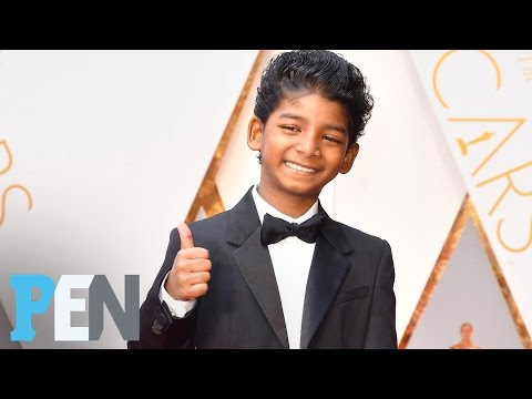 'Moonlight' Cast & 'Lion's' Sunny Pawar Lead Cutest Kids At The Oscars  PEN  Entertainment Weekly