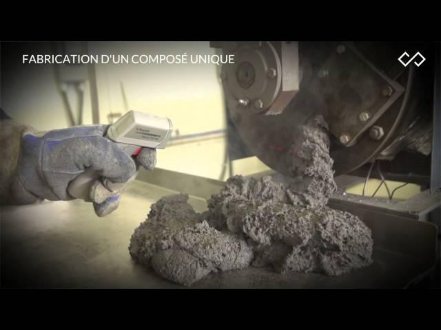 Создание экологической регенерации плитки | Création des dalles écologiques Regénération | Канада, город Квебек