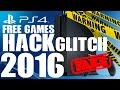 WARNING ABOUT FAKE PS4 FREE GAME GLITCH 2017