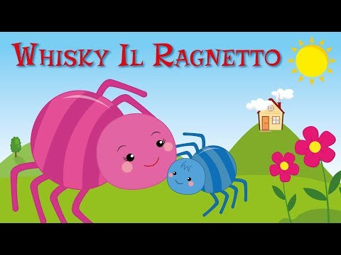Incy Wincy Spider (ITALIAN) | HD Children Songs & Nursery Rhymes by Music For Happy Kids