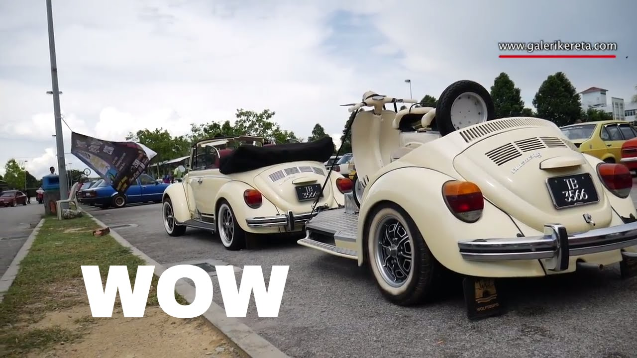 Amazing Modified Volkswagen Beetle Customized | Penang Retro Fest 2016 - YouTube