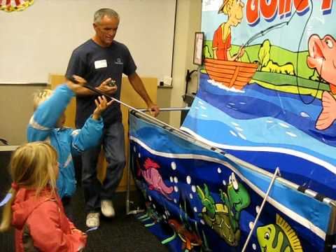 Gone Fishing Carnival Game - San Diego Kids Party Rentals