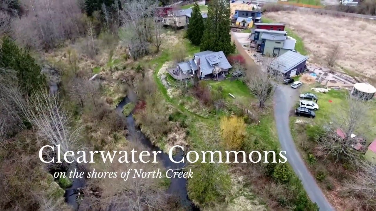 Clearwater Commons | Eco-Friendly Community on North Creek