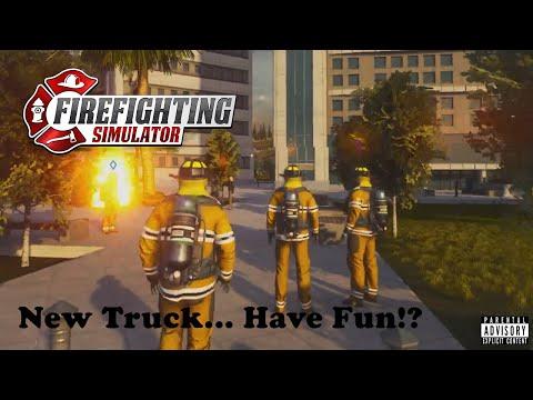 FIREFIGHTING SIMULATOR: THE SQUAD  EP 3 - #thesquad #Firefightersim  