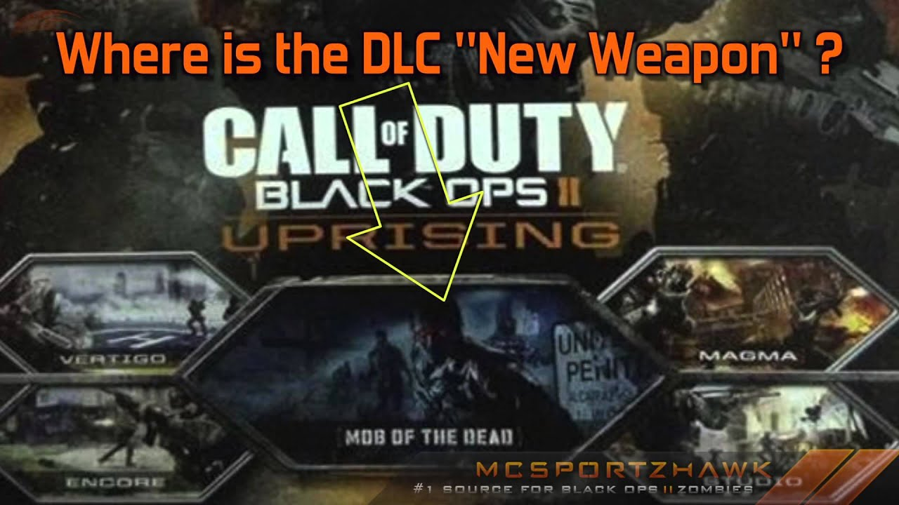 black ops 2 uprising dlc map pack 2 april 16th mob of the
