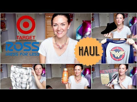 HAUL | Target & Ross | Exciting Fall Items!