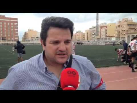Pablo Jiménez (Unión Rugby Almería) Tras Ganar A Universidad De Granada (División De Honor B)