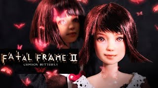 Mio and Mayu (Fatal Frame 2) | Halloween Collaboration | Custom Barbie Doll Repaint | Mozekyto #6