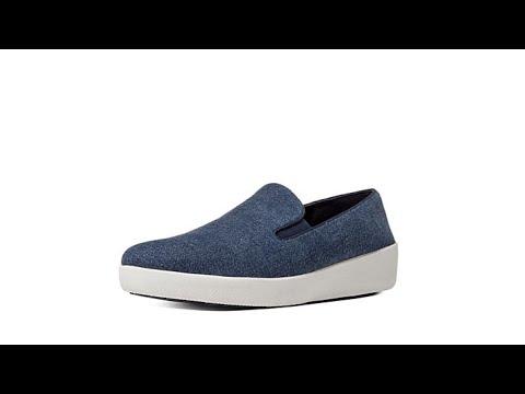 FitFlop Superskate Denim SlipOn Sneaker
