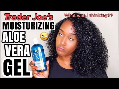 Wash And Go Fail Using Aloe Vera Gel For Skin On Natural Hair Must See Youtube