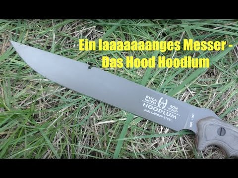 Ein laaaaaaanges Survival Messer - Das Hood Hoodlum