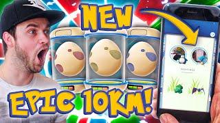 pokemon go x4 epic 10km eggs new tracking update