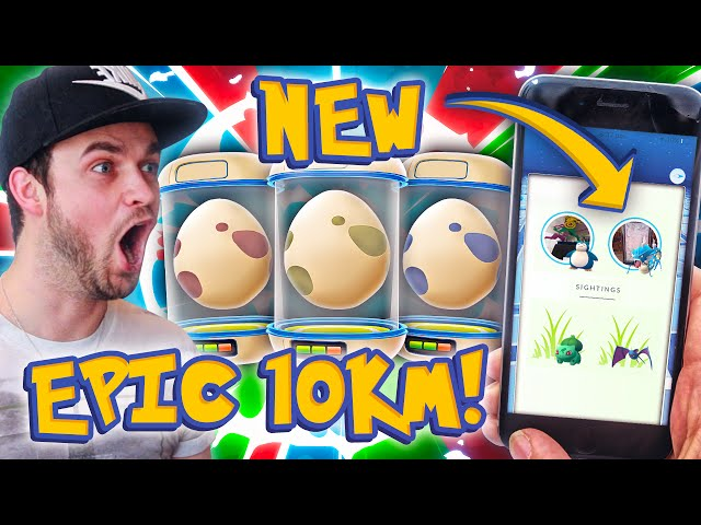 Pokemon GO - x4 EPIC 10km EGGS + NEW TRACKING UPDATE!