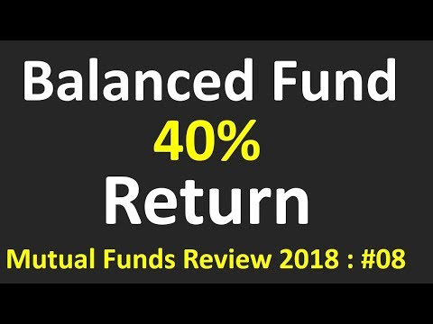 Why this Balanced fund with  40% returns( Mutual funds)   Best balanced fund for SIP   2018