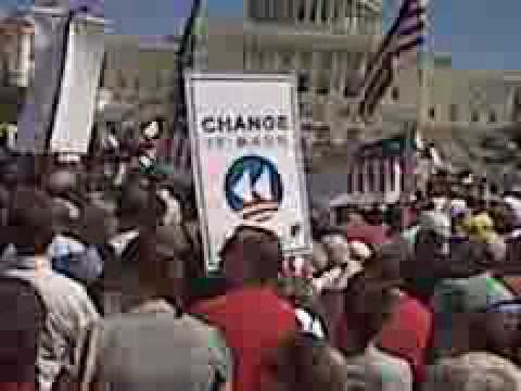Barack Obama's Cousin ~ Dr. Wolf ~ Rallies Against ObamaCare