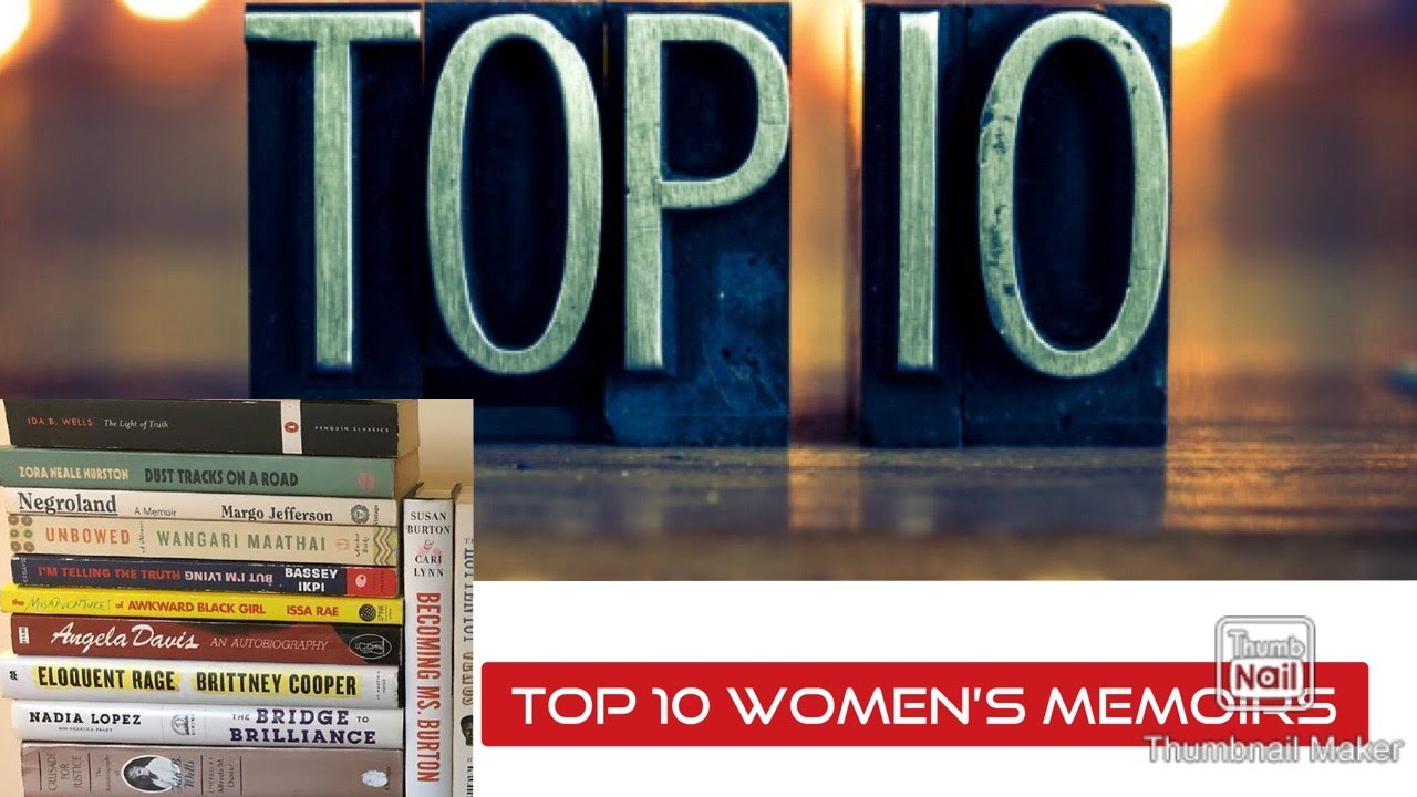 Top 10 Women's Memoires