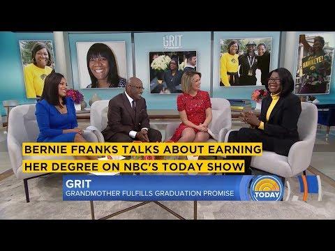 Bernie Franks on NBCs Today Show