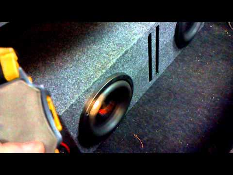 American Bass 8 Inch Subs