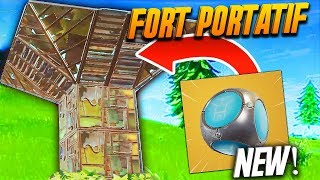 🔥 THE NEW POCHE FORT! CHEAT OR NO?! FORTNITE BATTLE ROYALE GAMEPLAY