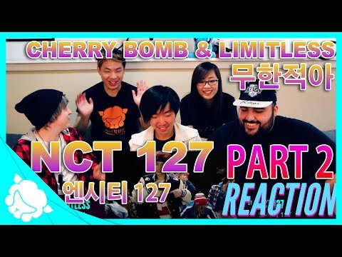 Non-Kpop Fans REACT to NCT 127 (엔시티 127) PART 2 - Limitless 무한적아 & Cherry Bomb