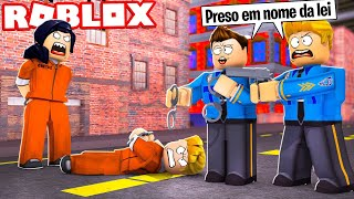 WE TURN COPS AND ARREST THIEVES IN ROBLOX! (Mad City)