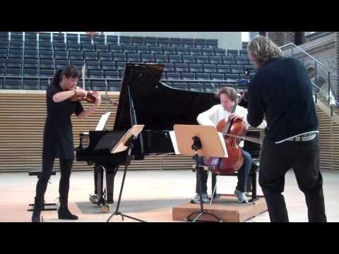 Mira Wang und Jan Vogler in der Konzertkirche Neubrandenburg