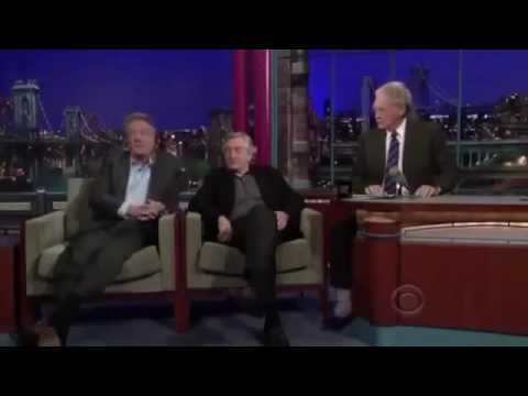 Robert De Niro & Dustin Hoffman on David Letterman Full Interview