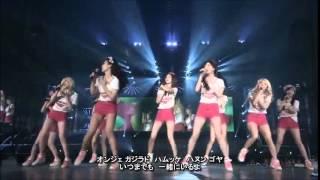 少女時代のデビュー曲(2007.08) 何年たっても、特別な曲です。 テヨン...
