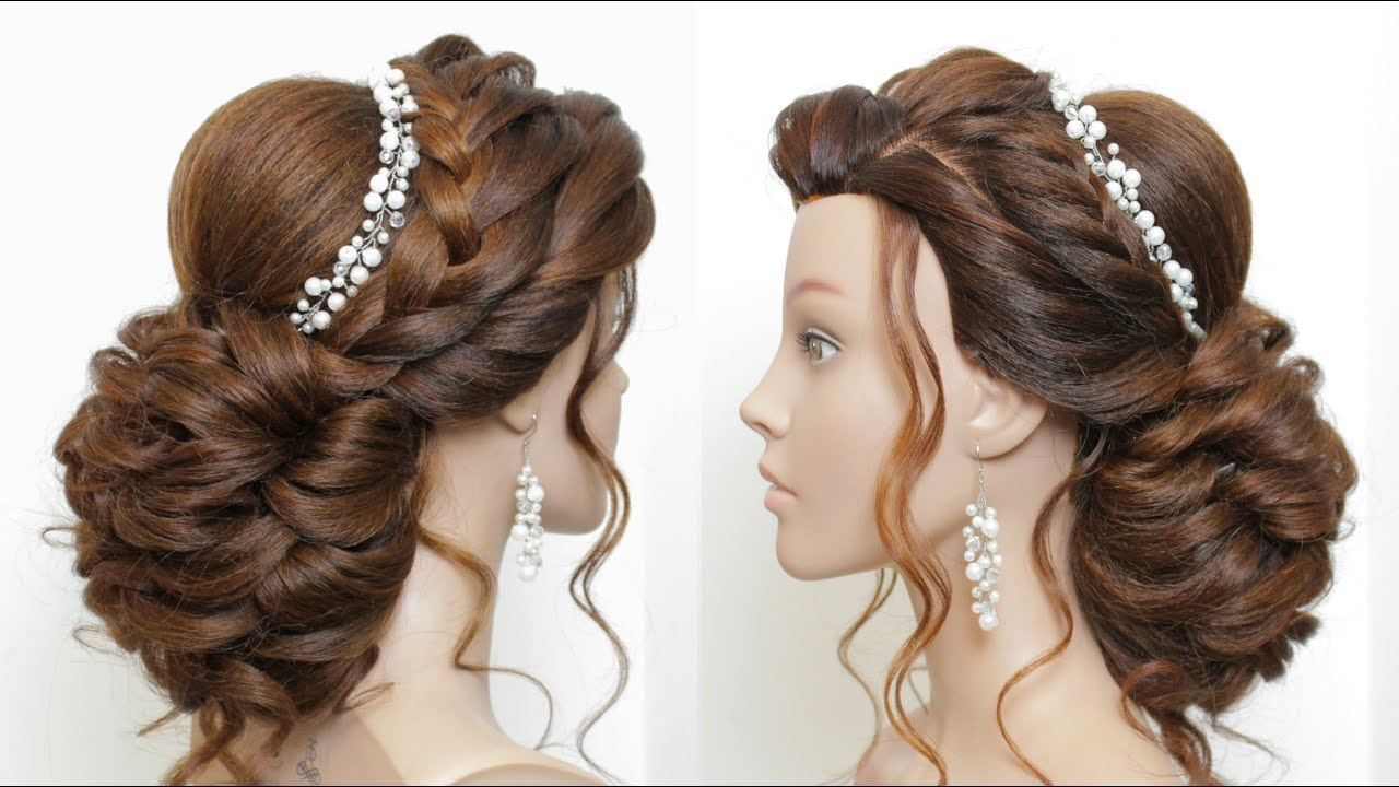 new wedding hairstyle. bridal updo for long hair tutorial