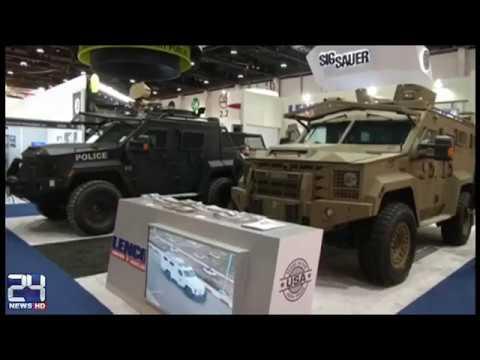 International defense exhibition held in UAE