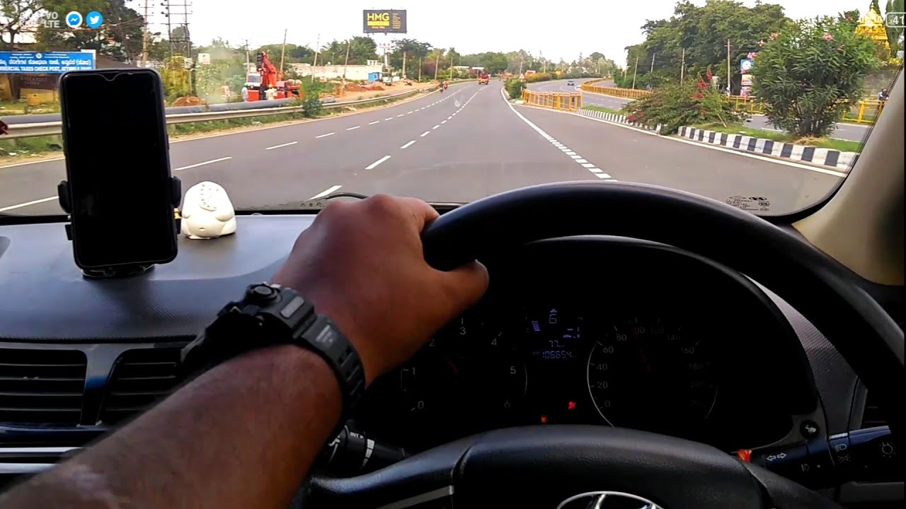 Long Drive | Tum Hi Aana | Hyundai Verna Drive | Bangalore Chennai Highway | Roy Cruiser