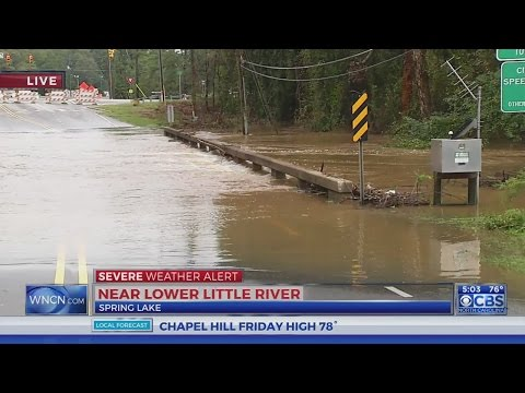 Little River sets flood record at Spring Lake