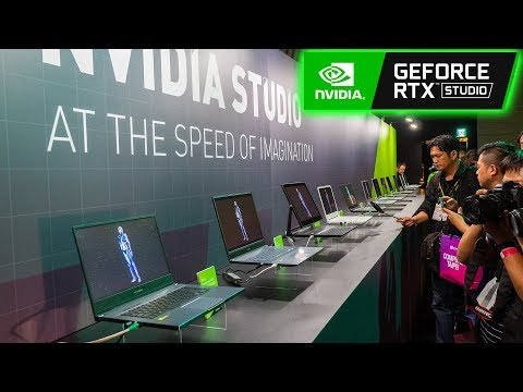 Nvidia Studio Laptops Are Here! 4K 120Hz?