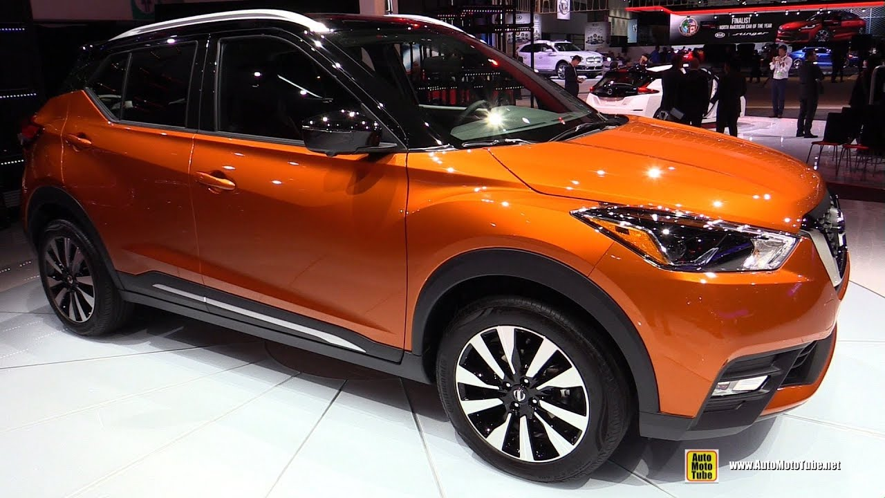 2019 Nissan Kicks Exterior And Interior Walkaround 2017 La Auto Show Youtube