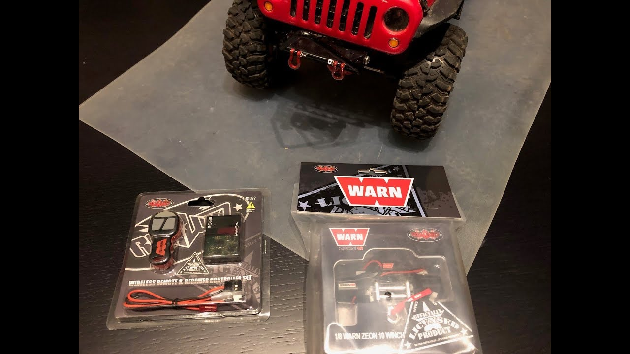 rc4wd warn winch hook up